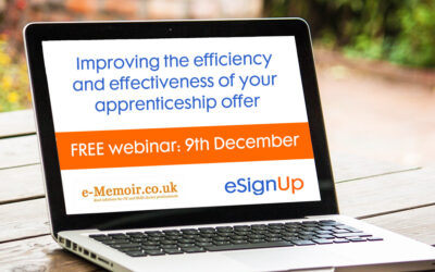 Free webinar: Improving the efficiency and effectiveness of your apprenticeship offer