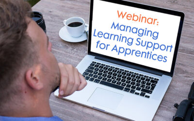 Free webinar: managing learning support for Apprentices